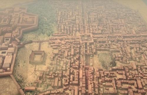 モヘンジョダロ 精密な都市設計