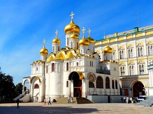 クレムリン ブラゴヴェシチェンスキー大聖堂