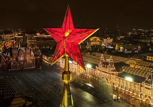 クレムリンの赤い星