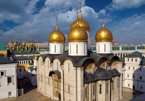 クレムリン ウスペンスキー聖堂