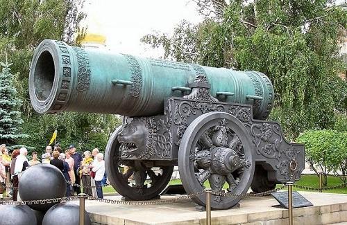 クレムリン 大砲の皇帝