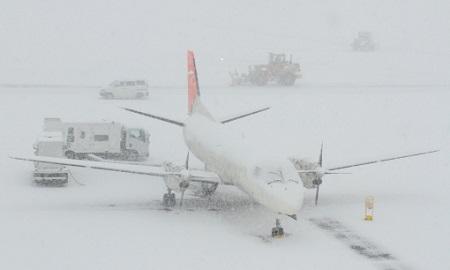 飛行機遅延